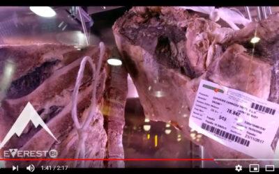 La mejor carne a la brasa en el Asador Restaurante Everest Bi